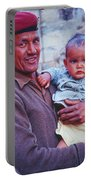 Soldier And Baby Portable Battery Charger