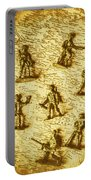 Soldiers And Battle Maps Portable Battery Charger