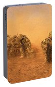 Soldiers In The Dust 4 Portable Battery Charger