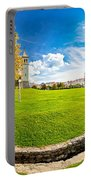 Solin Park And Church Panoramic View Portable Battery Charger