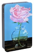 Solitary Rose Portable Battery Charger