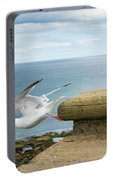 Solitary Seagull Take-off Portable Battery Charger