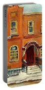 Solomons Temple Montreal Bagg Street Shul Portable Battery Charger