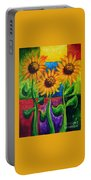 Sonflowers II Portable Battery Charger
