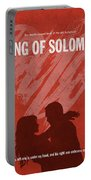 Song Of Solomon Books Of The Bible Series Old Testament Minimal Poster Art Number 22 Portable Battery Charger