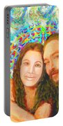 Sonia Marie And Her Sweetheart Portable Battery Charger