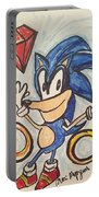 Sonic The Hedgehog Portable Battery Charger