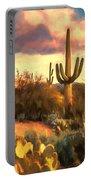 Sonoran Desert Morn Portable Battery Charger