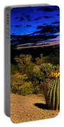 Sonoran Twilight Portable Battery Charger