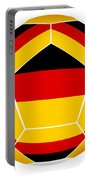 Soocer Ball With Germany Flag Portable Battery Charger