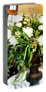 Sound Of Flowers Portable Battery Charger