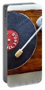 Record Player Cake Portable Battery Charger