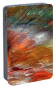 Sounds Of Thunder Abstract Portable Battery Charger