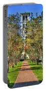 Sounds Of Victory The Bell Tower Furman University Greenville South Carolina Art Portable Battery Charger
