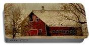 South Dakota Barn Portable Battery Charger
