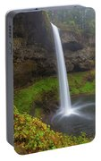 South Falls At Silver Falls State Park Portable Battery Charger