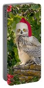 Santa Owl Portable Battery Charger