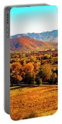 South Reno In Fall Portable Battery Charger