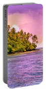 South Seas Sunset Portable Battery Charger