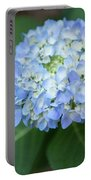 Southern Blue Hydrangea Blooming Portable Battery Charger
