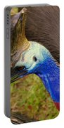 Southern Cassowary Portable Battery Charger