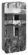 Southern Charm Black And White Portable Battery Charger
