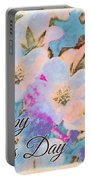 Southern Missouri Wildflowers -1 Mother's Day Card Portable Battery Charger