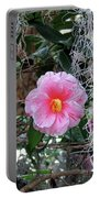 Southern Pink Camellia Portable Battery Charger