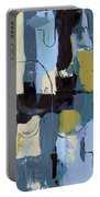 Spa Abstract 2 Portable Battery Charger by Debbie DeWitt