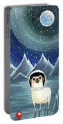 Space Pug  Portable Battery Charger