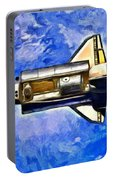 Space Shuttle In Space - Da Portable Battery Charger