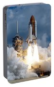 Space Shuttle Launching Portable Battery Charger