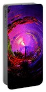 Space Spiral Portable Battery Charger