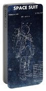Space Suit Patent Illustration Portable Battery Charger