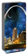 Spacey St. Louis Skyline Portable Battery Charger
