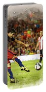 Spain Spanish Super Cup Portable Battery Charger