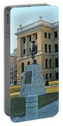 Spanish American War Memorial At Lucas County Courthouse 0098 Portable Battery Charger