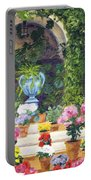 Spanish Courtyard Portable Battery Charger