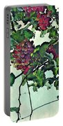 Spanish Grapes Portable Battery Charger by Sarah Loft