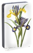 Spanish Iris Portable Battery Charger