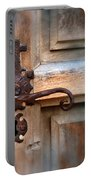 Spanish Mission Door Handle Portable Battery Charger by Jill Battaglia