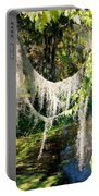 Spanish Moss Over The Swamp Portable Battery Charger