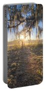 Spanish Moss Sunrise Portable Battery Charger