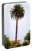 Spanish Palm Tree Portable Battery Charger