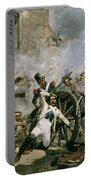 Spanish Uprising Against Napoleon In Spain Portable Battery Charger by Joaquin Sorolla y Bastida