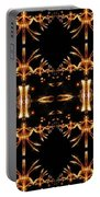 Sparkling Art Deco Banner Portable Battery Charger