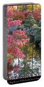 Sparkling Autumn Reflection Portable Battery Charger