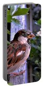 Sparrow In The Shrubs Portable Battery Charger