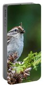 Sparrow With Lunch Portable Battery Charger
