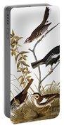 Sparrows Portable Battery Charger by John James Audubon